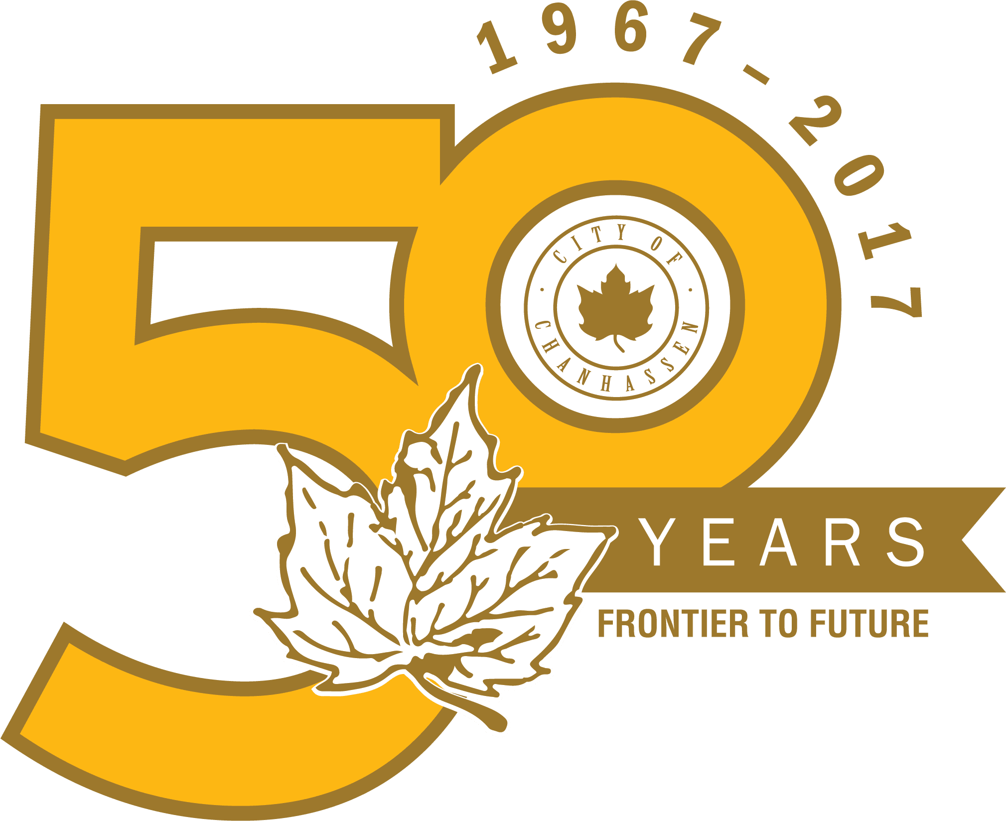 50th Chanhassen Anniversary Logo