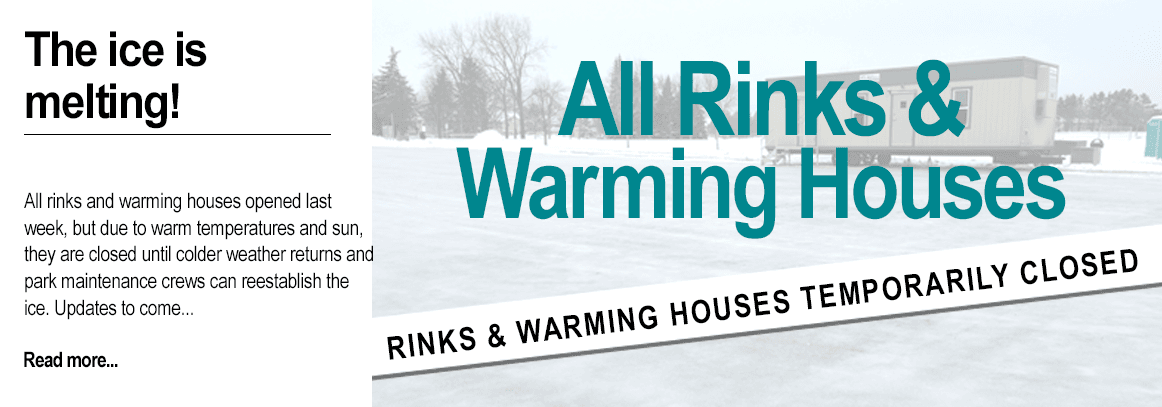 Ice rinks closed temporarily