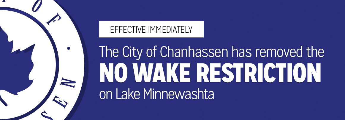No Wake Restriction Removed