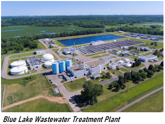 Photo of Blue Lake Wastewater Treatment Plant